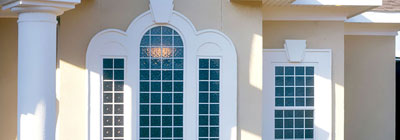 Round Top Windows - acrylic-block-round-top-windows
