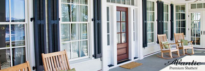 Architectural Louver Shutters