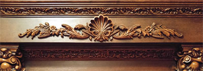 Carved Wood Millwork