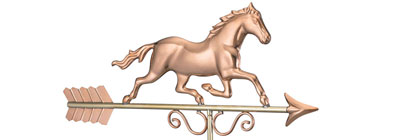 Copper Weathervanes - copper-weathervanes