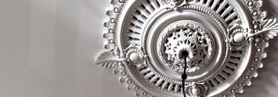 Diamond Ceiling Medallions
