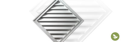 Diamond Gable Vents - ekena-diamond-gable-vents