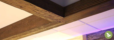 Faux Wood Beams - ekena-faux-wood-beams