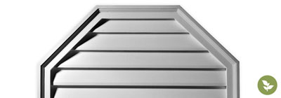 Urethane Gable Vents - ekena-gable-vents