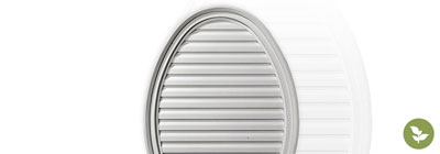 Oval Gable Vents - ekena-oval-gable-vents