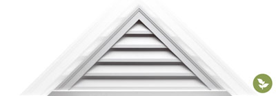 Triangle Gable Vents - ekena-triangle-gable-vents