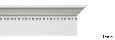 "Fypon 12"" Crossheads w/Dentil Trim - fypon-12-crossheads-dentil-trim"