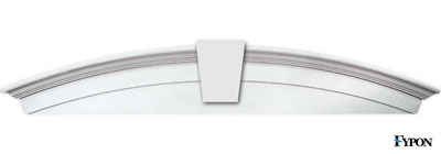 Fypon Arched Crossheads - fypon-arched-crossheads