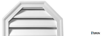 Fypon Octagon Gable Vents - fypon-octagon-gable-vents