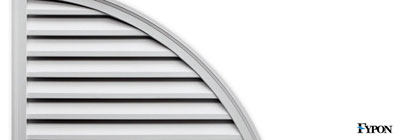 Fypon Quarter Round Gable Vents - fypon-quarter-round-gable-vents