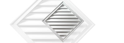 Decorative - gable-vent-diamond-decorative