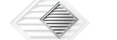Functional - gable-vent-diamond-functional
