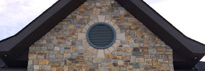 Functional - gable-vent-round-functional