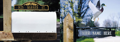 Mailbox Signs & Ornaments - mailbox-signs-and-ornaments