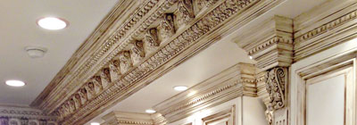 Ornate Crown Moulding