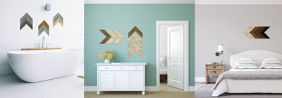 Rustic Wood Chevrons - rustic-wood-chevrons