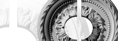 Round Ceiling Medallions - split-ceiling-medallions-round