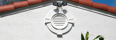 Attic Ventilation - Gable Vents