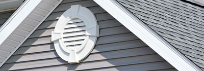 Vinyl Gable Vents