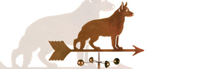 Cats and Dogs Weathervanes - weathervanes-vintage-cats-and-dogs