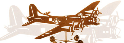 Planes, Trains, & Automobiles - weathervanes-vintage-planes-trains-automobiles