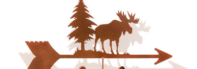 Wildlife Weathervanes - weathervanes-vintage-wildlife