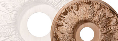 Wood Ceiling Medallions - wood-ceiling-medallions