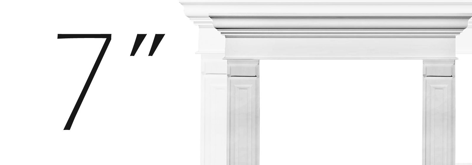 Fypon Double Raised Panel Pilasters - Fypon