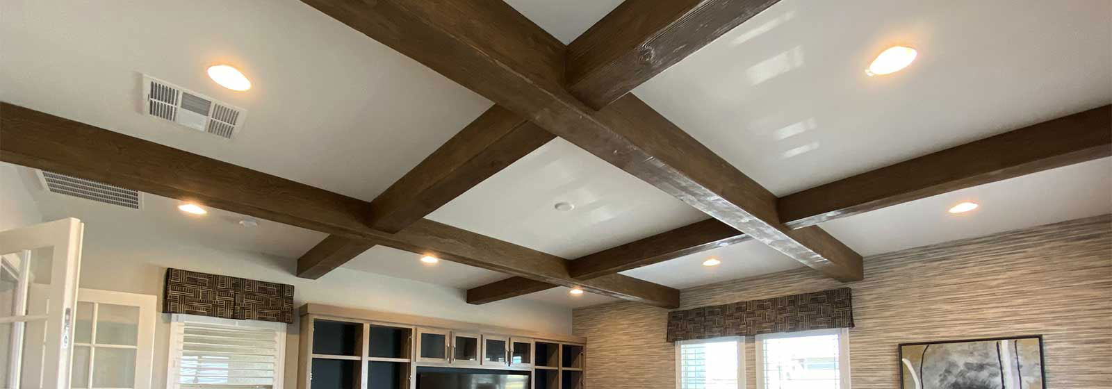 Faux Beams & Wood Beams