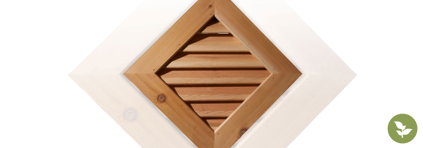 Wood Louvers and Gable Vents
