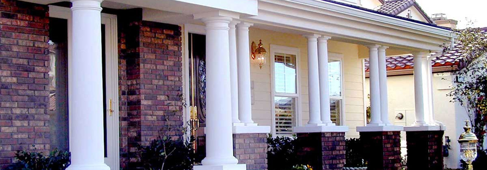 decorative olympus bistrodre columns landscape porch fiberglass and digital camera painting