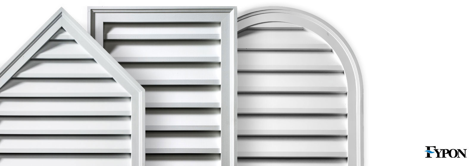 Fypon louvers and gable vents fypon vents for Fypon gable vents