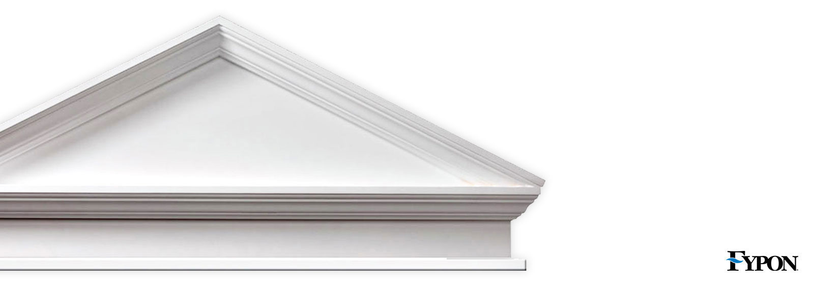 Fypon pediments fypon millwork pediments shop diy for Fypon window pediments