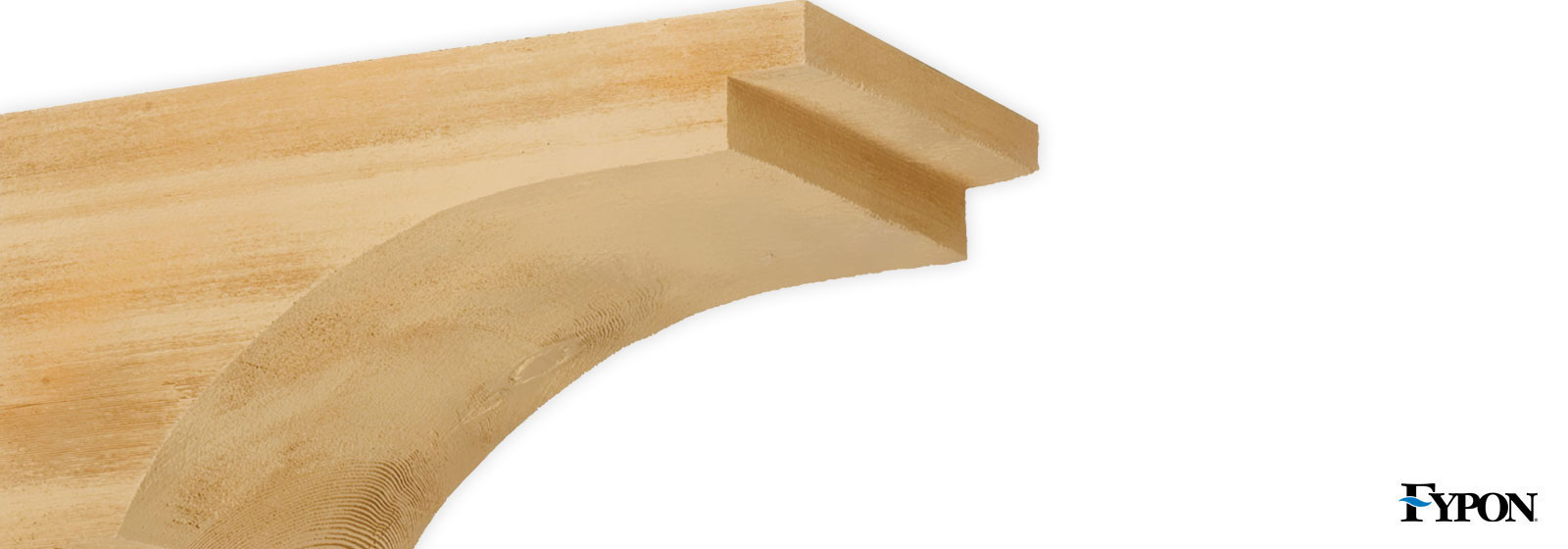 Fypon stone decorative millwork fypon shop diy for Fypon wood beams