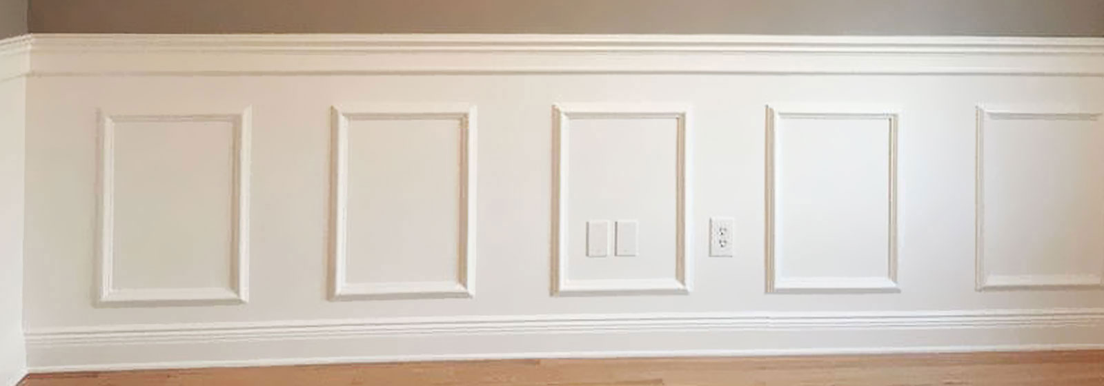Raised Panel Wainscot Paneling