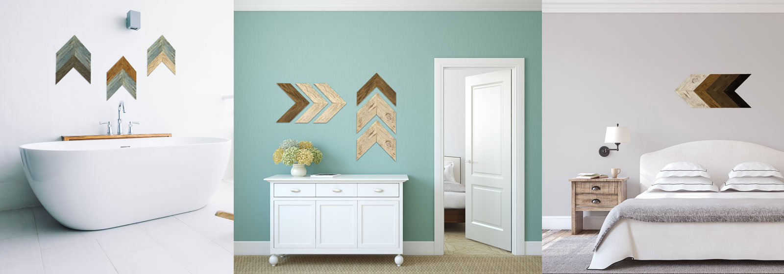 Rustic Wood Chevrons
