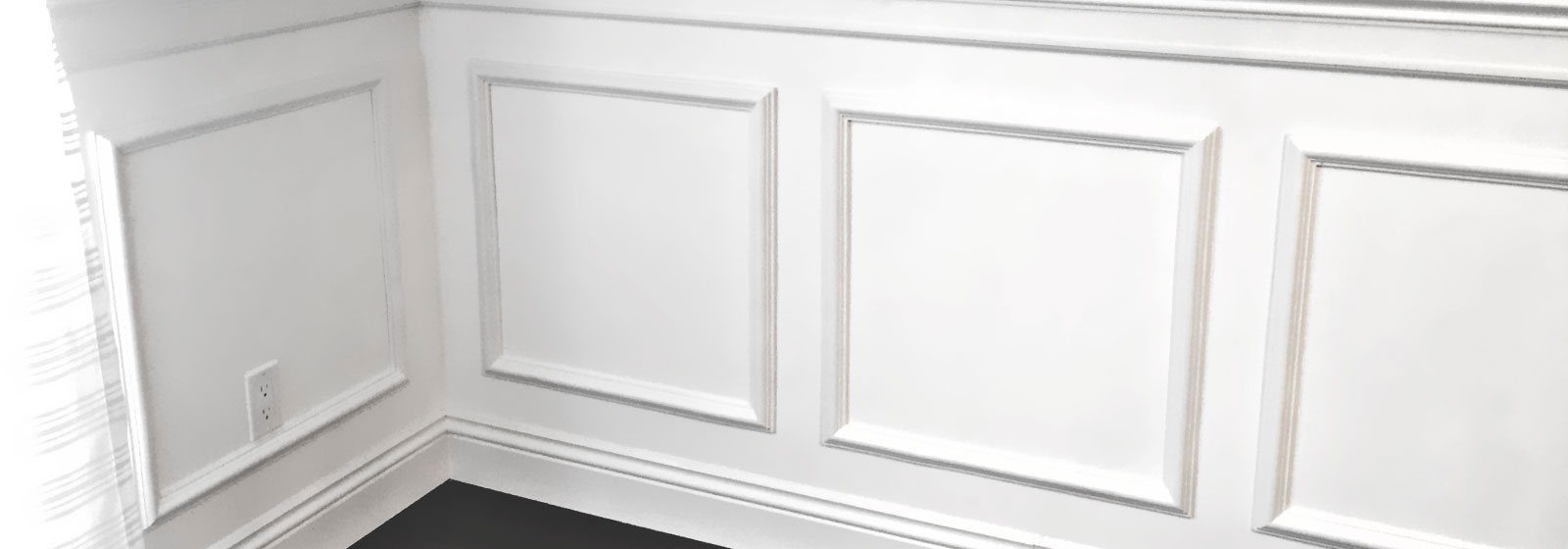 white bathroom wall panels wall panel wainscotting wainscot 21486