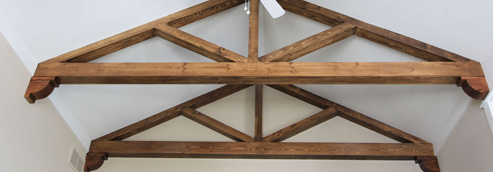 Wood Gable Bracket Pediments