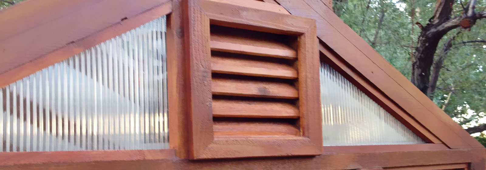 Wood Gable Vents