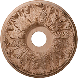 Wood Ceiling Medallions