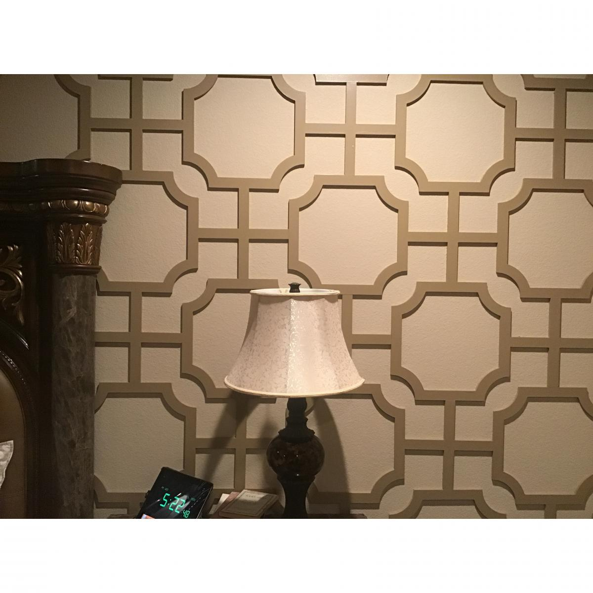 Ekena Millwork Walw16x16x0375brdmf Medium Bradley Decorative Fretwork Wood Wall Panels Wood Paint Grade