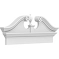 Rams Head Combination Pediment