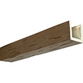 3-Sided (U-Beam) Builder's Choice Endurathane Faux Wood Ceiling Beam