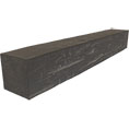 Hand Hewn Faux Wood Fireplace Mantel