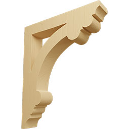 CORWEL Wood Shelf Brackets