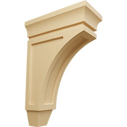 CORWLU Wood Shelf Brackets