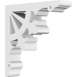 Riley Architectural Grade PVC Gingerbread Bracket