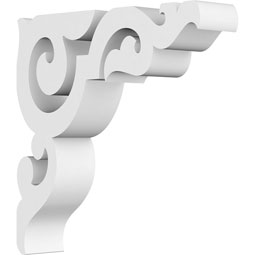 Rotherham Architectural Grade PVC Gingerbread Bracket