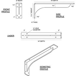 Embrey Steel Bracket