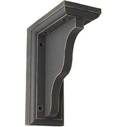 Hamilton Traditional Wood Vintage Decor Bracket